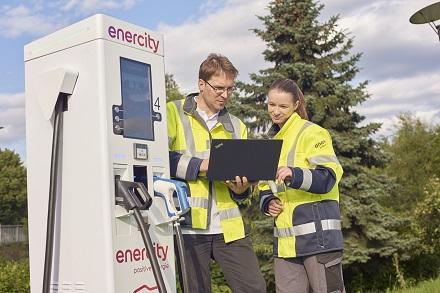 enercity installiert in Kürze den 2.500. Ladepunkt.
