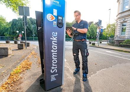 Elektromobilität ist ein wichtiger Baustein in der Klimastrategie der Stadtwerke Bonn.