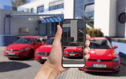 Die App Saskia.mobil ermöglicht die digitale Erfassung von Kfz-Kennzeichen.