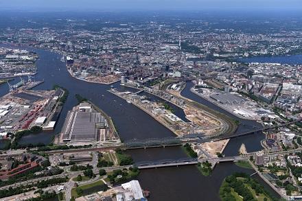 In der Hamburger HafenCity entsteht eine klimafreundliche Kälteversorgung.