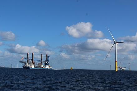 Das Potenzial der Offshore-Energie auf den deutschen Meeresgewässern wird auf 60 GW geschätzt.