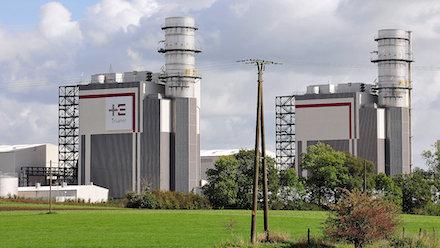 Auf dem Gelände des Trianel-Gaskraftwerks Hamm-Uentrop soll bis 2024 eine Erzeugungsanlage für Wasserstoff gebaut werden.