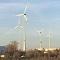 Sachsen ist von allen Flächenländern Schlusslicht beim Ausbau der Windenergie, wie hier am BMW-Standort in Leipzigs Norden.
