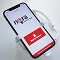 Die Nora-App kann ab sofort in den bekannten App-Stores bezogen werden.