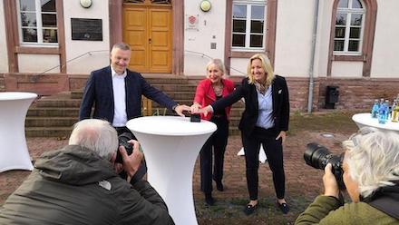 In Gernsheim wurde jetzt die 1.500 digitale Dorflinde in Betrieb genommen.