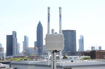 LoRaWAN-Gateways bilden die Grundlage und bietet die technische Infrastruktur für Steinbach und Kelsterbach auf dem Weg zur Smart City.