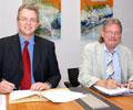 KITU-Vorstand und Barlebens Bürgermeister vereinbaren weitere Zusammenarbeit.