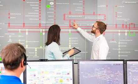 Die Netzführung anderer Energieversorger, die die Stadtwerke Schwäbisch Hall unter ihrem Konzept ASCARI anbieten, enthält unter anderem die Satellitenankopplung der Mandanten und die Abwicklung von Redispatch-2.0-Prozessen.